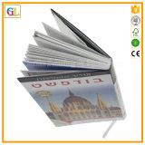 Обслуживание книжного производства книга в твердой обложке полного цвета (OEM-GL033)
