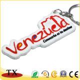 Crear PVC suave Keychain del caucho para requisitos particulares