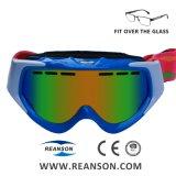 Mettre en place au cours de la myopie verres de lunettes de neige Anti-Fog