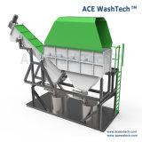 Пакостные неныжные мешки LDPE Film/HDPE твердые сплетенные Bottle/PP Fabric/PE пластмассы рециркулируя моющее машинау