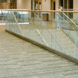 Prima u para a Grade de vidro de canal balaustrada de vidro temperado para varanda