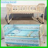 Hölzernes hölzernes Baby scherzt Möbel-Feldbett-Krippe-Bett