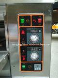 Horno eléctrico de la bandeja de la cubierta 4 de la máquina 2 de la hornada del pan para la venta