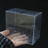 Caixa de presente biológica do empacotamento plástico do animal de estimação do PVC do espaço livre