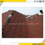 Buntes Fiberglas verstärkter Asphalt-Schindel für Dächer
