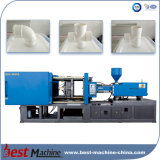 Chaîne de production entière moulage par injection d'ajustage de précision de pipes de PVC faisant la machine