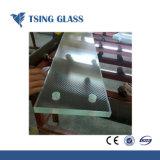 12-38mm Templado de Vidrio/Cristal Antiskid antideslizamiento para Escalera/ Piso/edificio