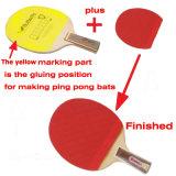 Máquina de embalagem quente da maquinaria da colagem do revestimento para bastões de Pong do sibilo/bastão Tenis da tabela/pá Pong do sibilo
