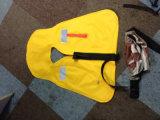 Спасательный жилет шкафута Approved Nylon водоустойчивой ткани 600d CCS раздувной