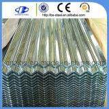 波形の電流を通された亜鉛鉄の鋼鉄屋根シート
