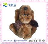 Nuovo sacchetto della caramella del cane della peluche del Brown di arrivo