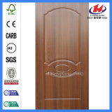 Piel interior de madera de la puerta del papel de la melamina del nuevo diseño (JHK-007)