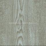 رماديّة خشبيّة مسيكة رخيصة طقطقة [لفت] فينيل أرضية لأنّ مكتب إعلان بيتيّة 1804