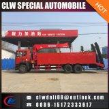 2018년 중국 새로운 다기능 트럭에 의하여 거치되는 기중기, 10ton 의 12ton 판매를 위한 사다리를 가진 이동할 수 있는 트럭 기중기