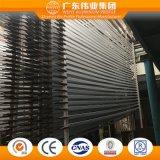 Алюминий/алюминий/профиль двери штрангя-прессовани Aluminio с обработкой электрофореза