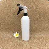бутылка брызга белого цилиндра любимчика 400ml круглая пластичная с брызгом пуска