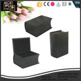 Décoration personnalisée cuir synthétique des boîtes de vin en forme de livre (5451)