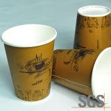 Taza de café de un sólo recinto disponible revestida del PE