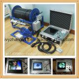cámara subacuática del examen del CCTV de los 0-1000m para el examen de los receptores de papel de agua y el examen del vídeo de la perforación