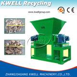 MetallstahlDoubel Welle-Reißwolf/Abfall-automatischer Plastikschleifer/Gummigranulierer
