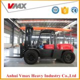 重い作業のための中国エンジンの普及した使用を用いるフォークトラックの上昇10ton