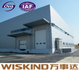 Prefasbrictaed Almacén estructural de acero con vigas de acero Material