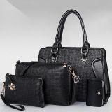 Le premier sac de vente d'unité centrale a placé avec 4bags pour des sacs à main de dames de qualité de femmes élégantes de l'usine Sy8563 de Guanzhou