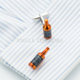 VAGULA Whiskey Bottle Funny Cufflink 707