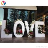 Foshan Fabrication personnalisée Lettre Table en bois de mariage pas cher