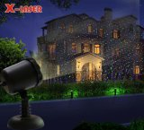 Lumières lasers extérieures dynamiques avec la lumière laser extérieure à télécommande de jardin de RVB pour Noël et la décoration d'intérieur