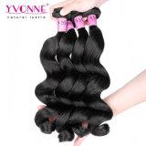 Capelli allentati del brasiliano di estensione dei capelli umani dei capelli dell'onda di Yvonne