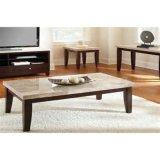 Tavolino da salotto della mobilia del salone di disegno moderno con la parte superiore di marmo