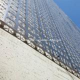 Het architecturale Geperforeerde Gesneden Comité van het Scherm van het Aluminium voor De Bekleding van de Gordijngevel