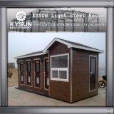 De prefab Structuur die van het Staal het Huis van de Container van 2 Vloer voor Workshop bouwen
