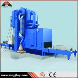 Máquina del chorreo con granalla de la placa de acero, modelo: Mtr