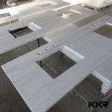 Kingkonree personalizou a parte superior contrária de superfície contínua colorida de cozinha (C171127)