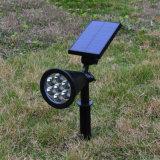 Vente chaude Lampe LED solaire pelouse extérieure pour jardin et de la gare de triage de la famille Lumière