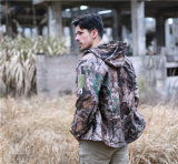 New Camouflage Tactical soft shell Hunting Jacket Men outdoor Jacket