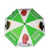 Un ombrello automatico delle tre volte di stampa completa per il regalo di promozione (FU-3823BFA)