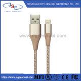 Фги сертифицированный производитель нейлоновой оплеткой быстрой зарядки и синхронизации молнии кабель для iPhone