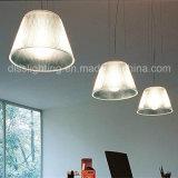 Einfache Art-transparente hängende Glasbeleuchtung für Hauptdekoration-hängende Lampe