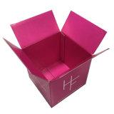 Rosafarbene Abdeckstreifen-gewölbter Verschiffen-Kasten der Farben-vier