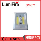 200lumen indicatore luminoso senza cordone a pile dell'interruttore di notte della PANNOCCHIA LED