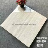 熱いデザイン建築材料の十分に磨かれた艶をかけられた床タイル
