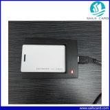 cartão em branco da identificação do PVC da parte superior RFID do controle de acesso 125kHz