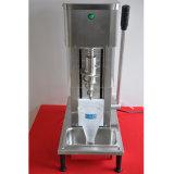 Crême glacée reconnue par ce de remous d'acier inoxydable faisant la machine