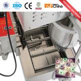 Kommerzielle automatische Krapfen-Bratpfanne, die Maschinen-Krapfen-Hersteller bildet