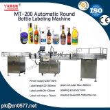 Máquina de etiquetas automática do frasco redondo para o frasco da medicina (MT-200)
