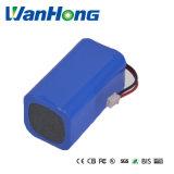 18650 bloco da bateria de 7.4V 4.4ah para a energia solar