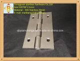Dobradiça da mobília da ferragem da porta do aço inoxidável